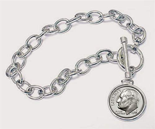 The Matthew Mint Roosevelt Dime Bracelet