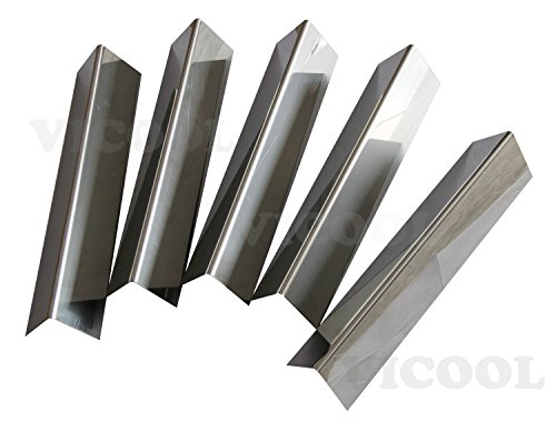 VICOOL hy7636 Stainless Steel Flavorizer Bars for Weber 46510001 47510001 46710001 SP310 SP-310 E310 E-310 E-320