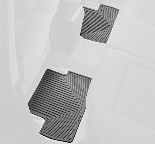 WeatherTech W3GR-W20GR Floor Mat, Rubber, Front/Rear Beretta Front Floor Mat