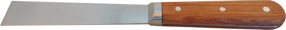 Haromac Malerspachtel 25 mm, rostfrei, mit Rosenholzheft, durchgehendes, konisches Blatt, 10046025SB