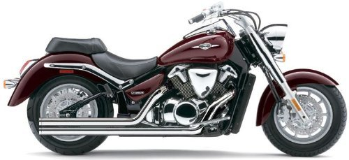 Cobra Speedster Long Exhaust System for Suzuki Cruisers - Suzuki C90T Boulevard (Cobra C90 Exhaust System)