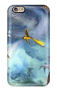 Premium QHOuWVG1338eXMbc Case With Scratch-resistant/ Dragon Case Cover For Iphone 6