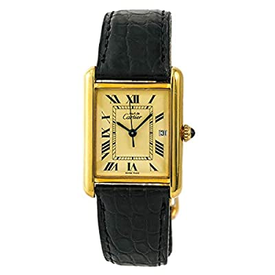 Cartier Tank Louis Cartier Quartz Male Watch 2413 (Certified Pre-Owned) by Cartier