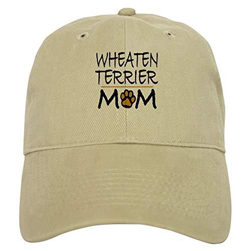 CafePress Wheaten Terrier Mom Baseball Cap with Adjustable Closure, Unique Printed Baseball Hat ()