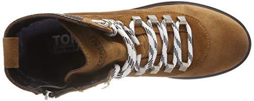 906 Bottes Boot Tommy Winter Jeans Hiking Rangers Marron Femme Cognac RqqnwB