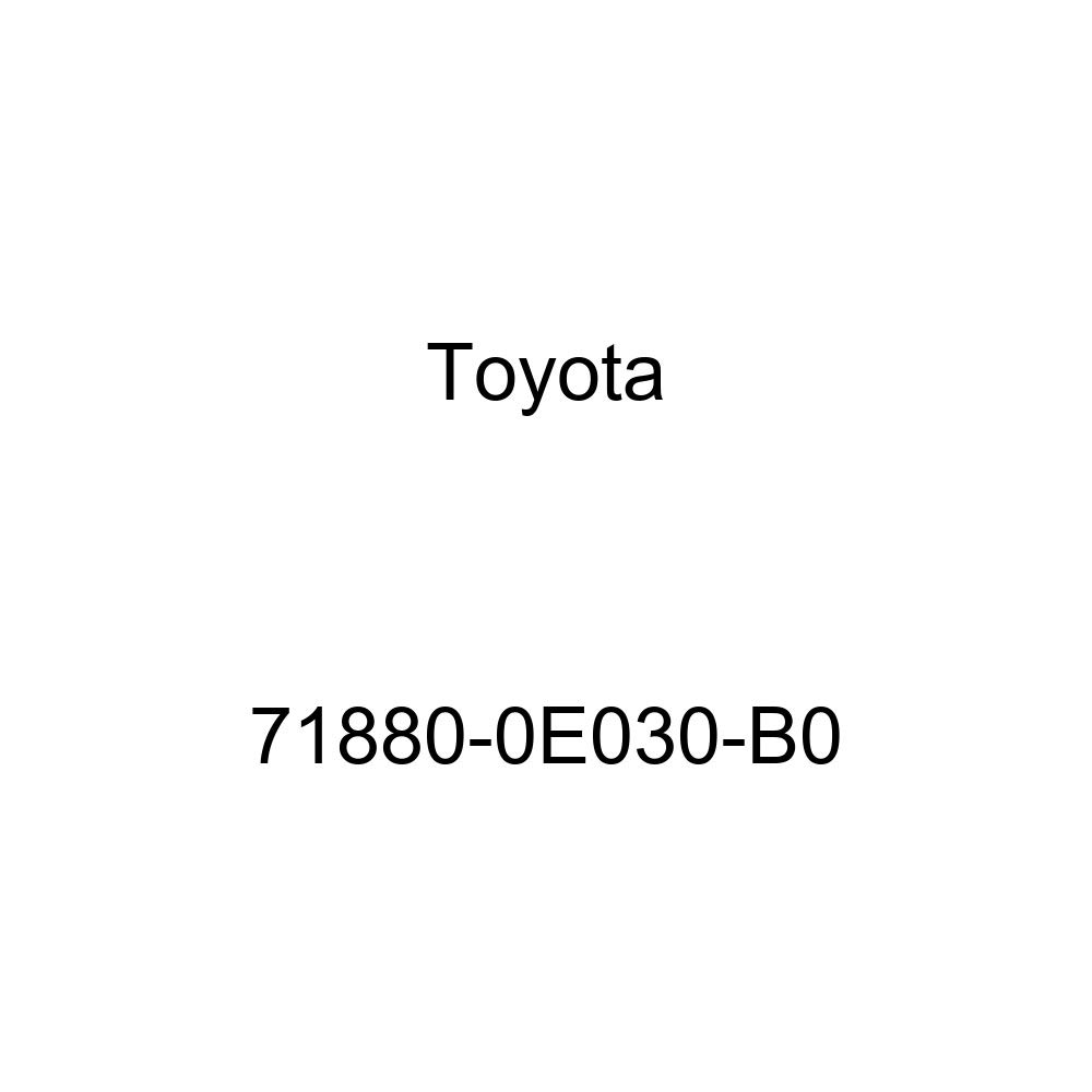 TOYOTA Genuine 71880-0E030-A0 Seat Back Board Carpet Assembly