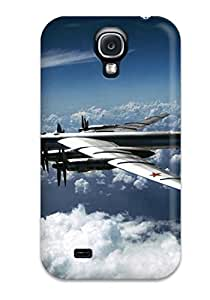 Slim Fit Tpu Protector Shock Absorbent Bumper Bomber Case For Galaxy S4 9736374K57488793