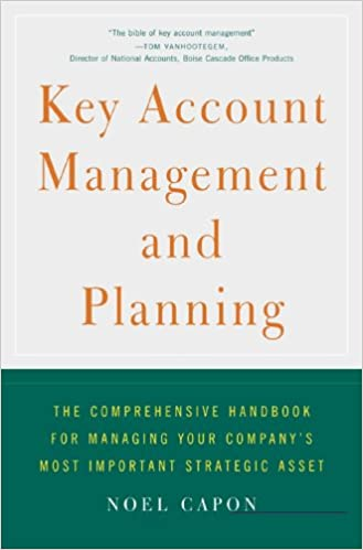 Amazon key account management and planning the comprehensive key account management and planning the comprehensive handbook for managing your companys most important strategic asset kindle edition fandeluxe Images