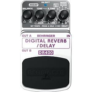 BEHRINGER DR400 REVERB/DELAY