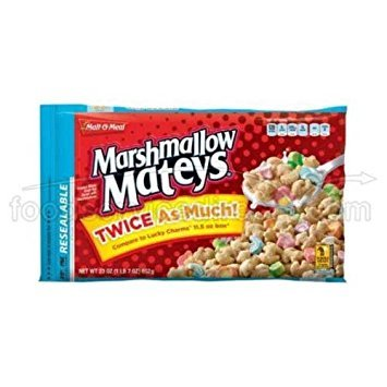 Malt-O-Meal Marshmallow Mateys Whole Grain Oat Cereal 23 oz (Pack of 9)