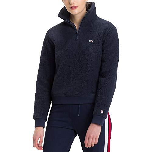 Jacket Tommy Dw0dw05366 Jeans Black Donna Classics Iris Hilfiger 002 Fleece Tjw Puffa 88wYqrC