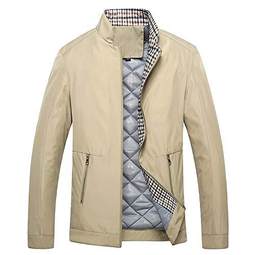 - Mens Casual Jacket, Jiayit Men Winter Solid Sportswear Outwear Outdoor Biker Motorcycle Zipper Top Blouse Windbreaker Lightweight Bomber Jackets Coats