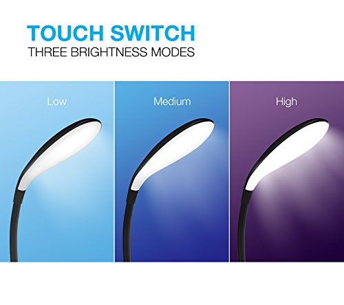 LED-Clip-On-Reading-Light-12-LEDs-Reading-Lamp-with-3-Brightness-Levesl-USB-Rechargeable-Touch-Control-Book-Light-Vont