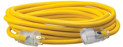 Southwire 02568 50-Foot 12//3 Cold Weather Extension Cord Blue