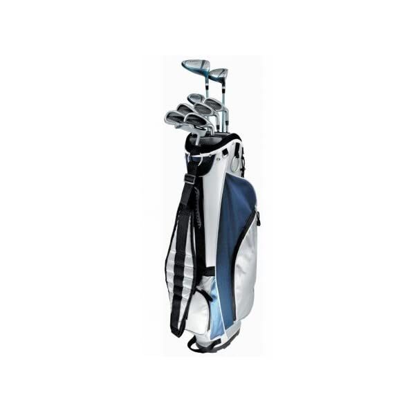 agxgolf-new-ladies-right-hand-tec-plus-golf-club-set-w-ladies-cart-bag-driver-3-wd-hybrid-6-pw-free-putter-petite-regular-or-tall-length