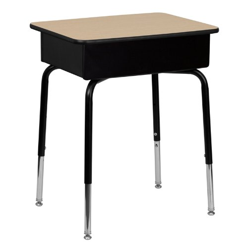 Amazoncom Flash Furniture FDDESKGG Student Desk with Open