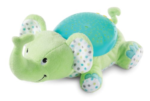 Summer Infant Slumber Buddies Projection and Melodies Soother, Eddie the Elephant (Mobile Projection Baby)
