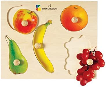 Fruits Knob Puzzle for All Age Kids