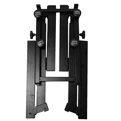 On-Stage KS7365EJ Pro Heavy-Duty Folding-Z Keyboard Stand with 2nd Tier by OnStage (Image #3)