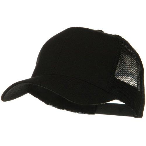 Otto Caps Solid Cotton Twill Mesh Prostyle Cap - - Twill Cotton Caps Otto