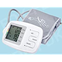 EastShore C12BVL Talking Upper Arm Blood Pressure Monitor With Large Adult Cuff...