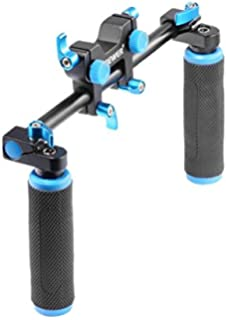 Camera & Photo Have An Inquiring Mind Neewer Dslr Dual Handle Hand Grip For Shoulder Pad Chest Steady 15mm Rail Rod Rig Support System