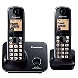 Panasonic KXTG3712 Cordless Phone (Black) Ni-MH rechargeable battery