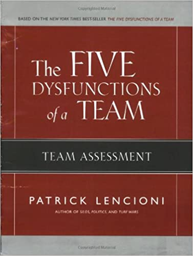 Team Assessment The Five Dysfunctions of a Team