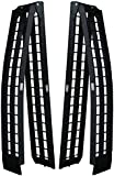 <br /> Titan Ramps 10' Long Folding Aluminum Arch ATV Ramps 1200 lb Capacity Light Weight Easy to Transport Dirt Bike Set of 2