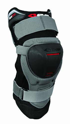 (EVS Sports SX01 Knee Brace (Grey/Black, Medium))