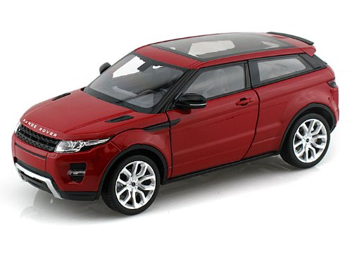 Range Rover Land Rover Evoque Red 1/24 by Welly 24021 (Model Range Rover)