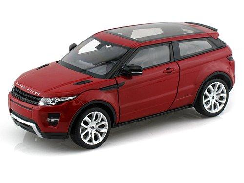 Range Rover Land Rover Evoque Red 1/24 by Welly 24021 (Range Rover Evoque Toy)
