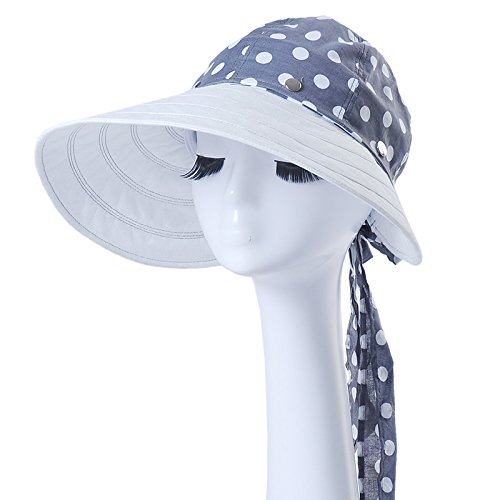[PLKOI Ms. Summer Outdoor Sunshade Sunscreen Cycling Hats Sun Hats Foldable Cooler Cap Beach] (Ms Swimming Costume)
