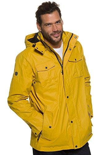 JP 1880 Homme Grandes tailles Manteau Ciré Imperméable - Veste de pluie - manteau softshell jaune 4XL 705624 60-4XL