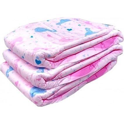 taille L My Diaper/Lot de 10 couches roses