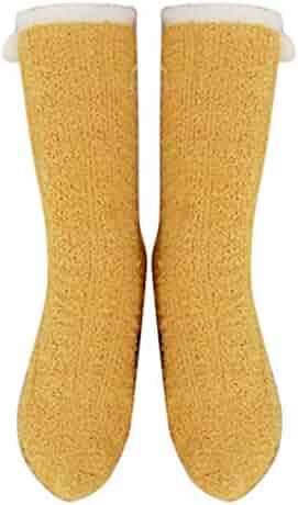 SANKE Winter Pulling half Velvet Long Embroidery Cartoon Socks Floor Sock