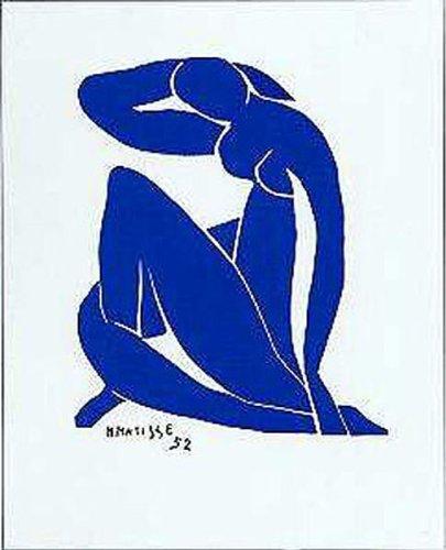 Blue Nude Ii by Henri Matisse 12 X 9.5 Art Print Poster