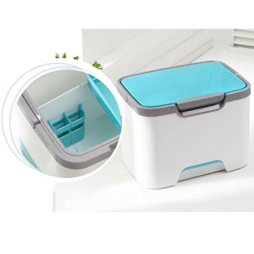 VT BigHome Household Multi-Grid First Aid Kit Storage Box Multifunction Medicine Storage Box Organizer Drug Pill Box Case by VT BigHome (Image #5)