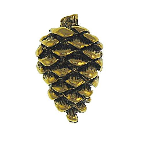 Jim Clift Design Pine Cone Gold Lapel Pin - 1 Count (Pine Cone Designs)