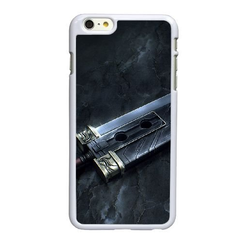 Buster Sword J9N86W7XJ coque iPhone 6 6S 4.7 Inch case coque white 53N6C7