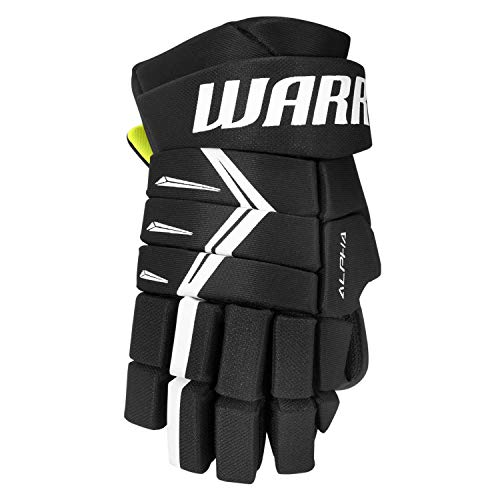 Warrior Sports Alpha Dx5 Junior Hockey Gloves Black 12