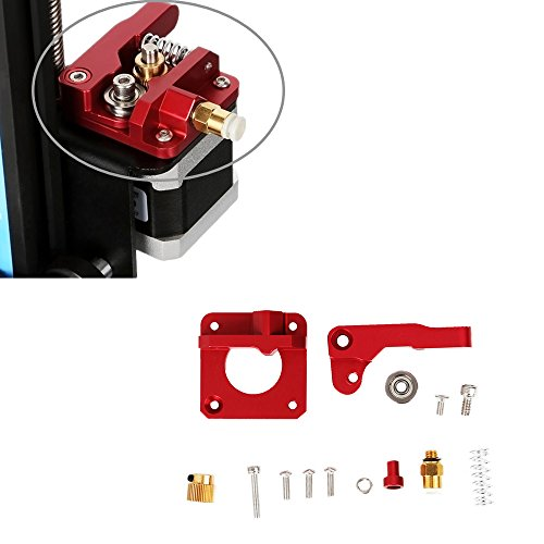 Upgraded Replacement Parts 3D Printer MK8 Exturder Kit Aluminum Frame Block DIY Kit Accessories for Creality CR-10 3D Printer Series