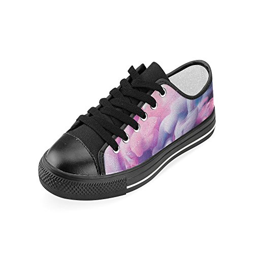 floral Ink Drop for On Women InterestPrint Water in Shoes Slip and Classic Canvas mandala BKM4wdqF