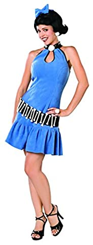 The Flintstones Betty Rubble Deluxe Adult, Small - Flintstone Mask