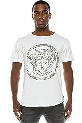Men's Premium Sequins Crewneck T-Shirt