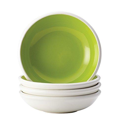 - Rachael Ray 58737 Dinnerware Rise Fruit Bowl Set, 4 Piece, Green