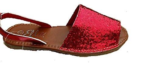 Ella - Sandalias de vestir de Material Sintético para niña Red