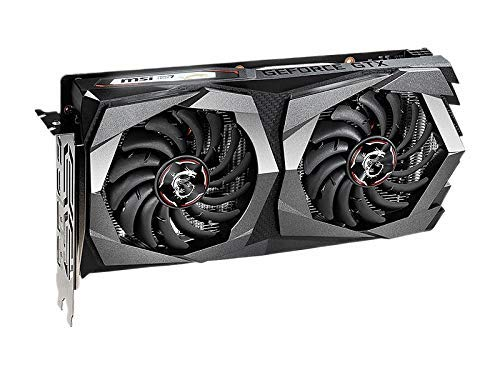 (Renewed) MSI Gaming GeForce GTX 1650 128-Bit HDMI/DP 4GB GDRR5 HDCP Support DirectX 12 Dual Fan VR Ready OC Graphics Card (GTX 1650 Gaming X 4G)