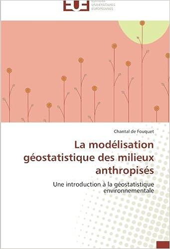 La modélisation géostatistique des milieux anthropisés: Une introduction à la géostatistique environnementale