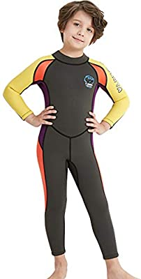 Thermal Long Sleeve Full Diving Suit Youth Swimming Suit for Water Sports Snorkeling Diving Kids Wet Suit